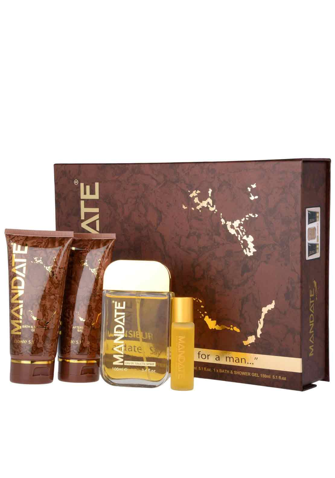 Mandate Mens Fragrance Gift Set