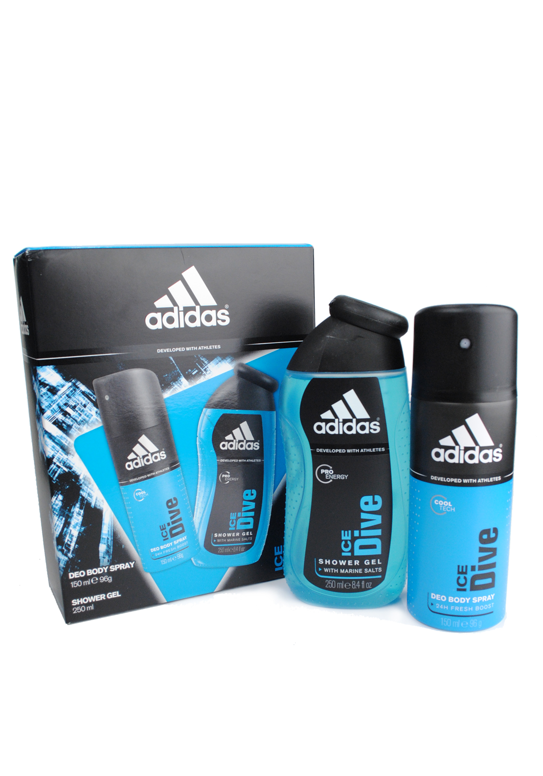 Adidas Ice Dive  Body Spray Gift Set