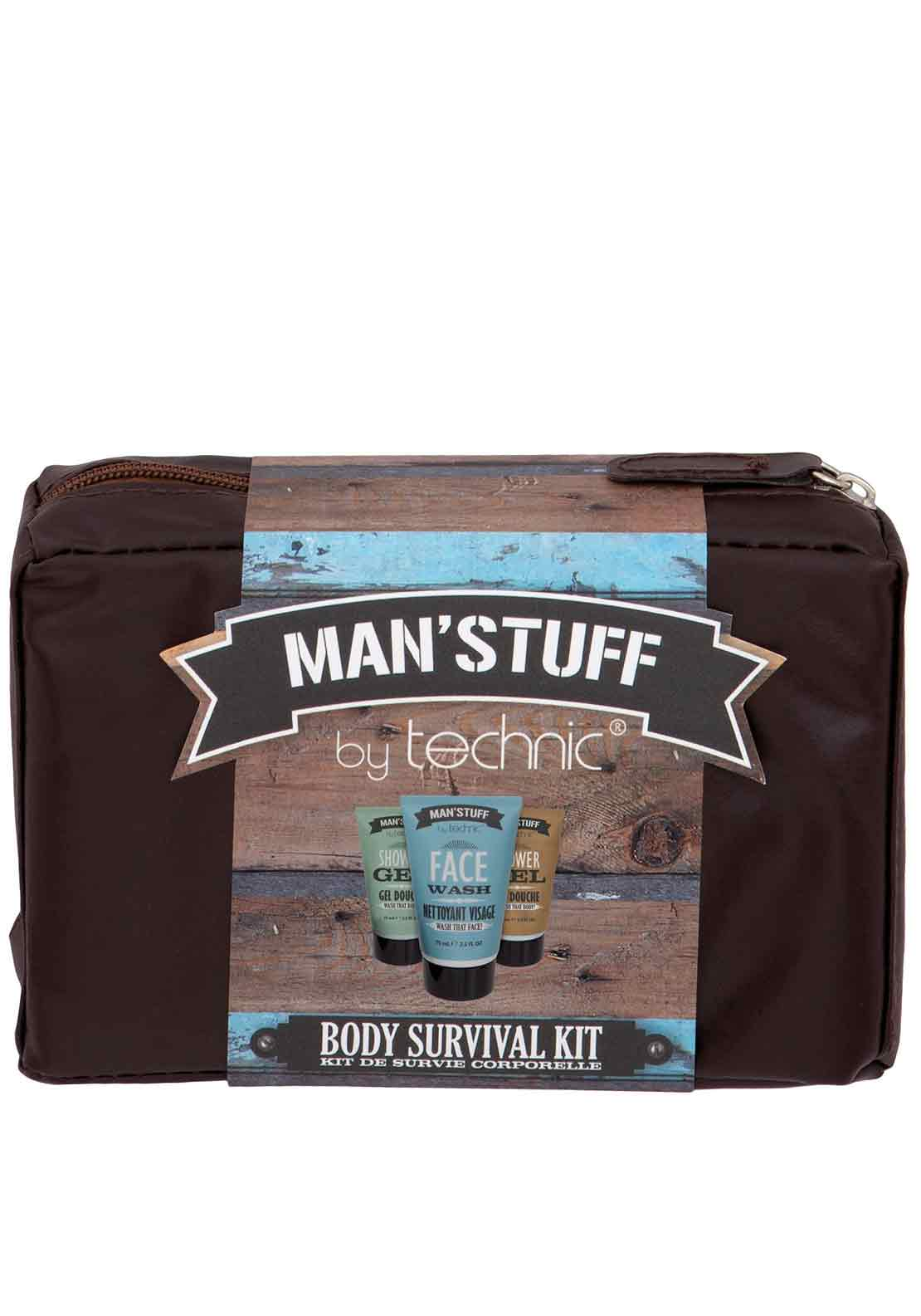 Technic Man's Stuff Wash Bag Gift Set