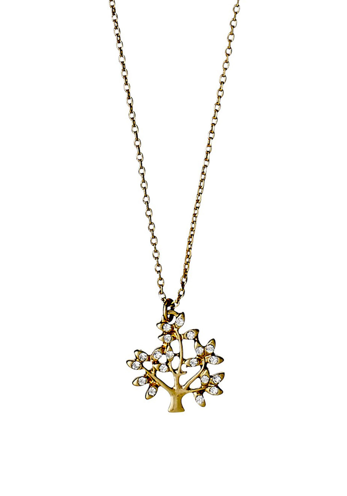 Pilgrim Tree Necklace, Gold Plated