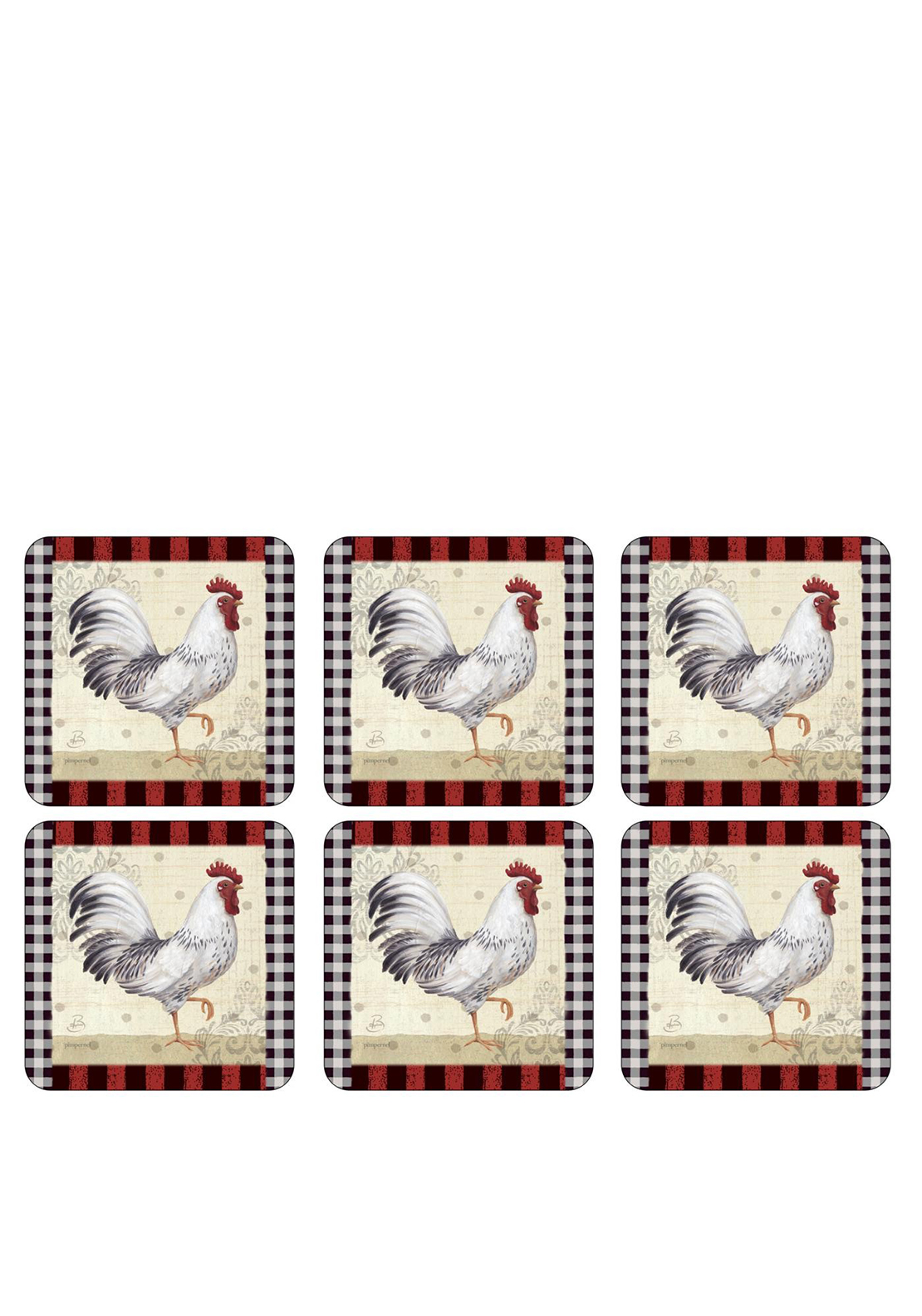Pimpernel Country Touch Set of 6 Coasters