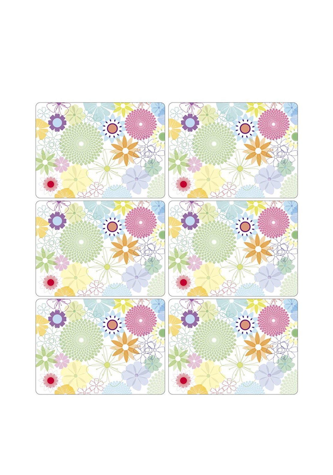 Pimpernel Crazy Daisy Set of 6 Placemats