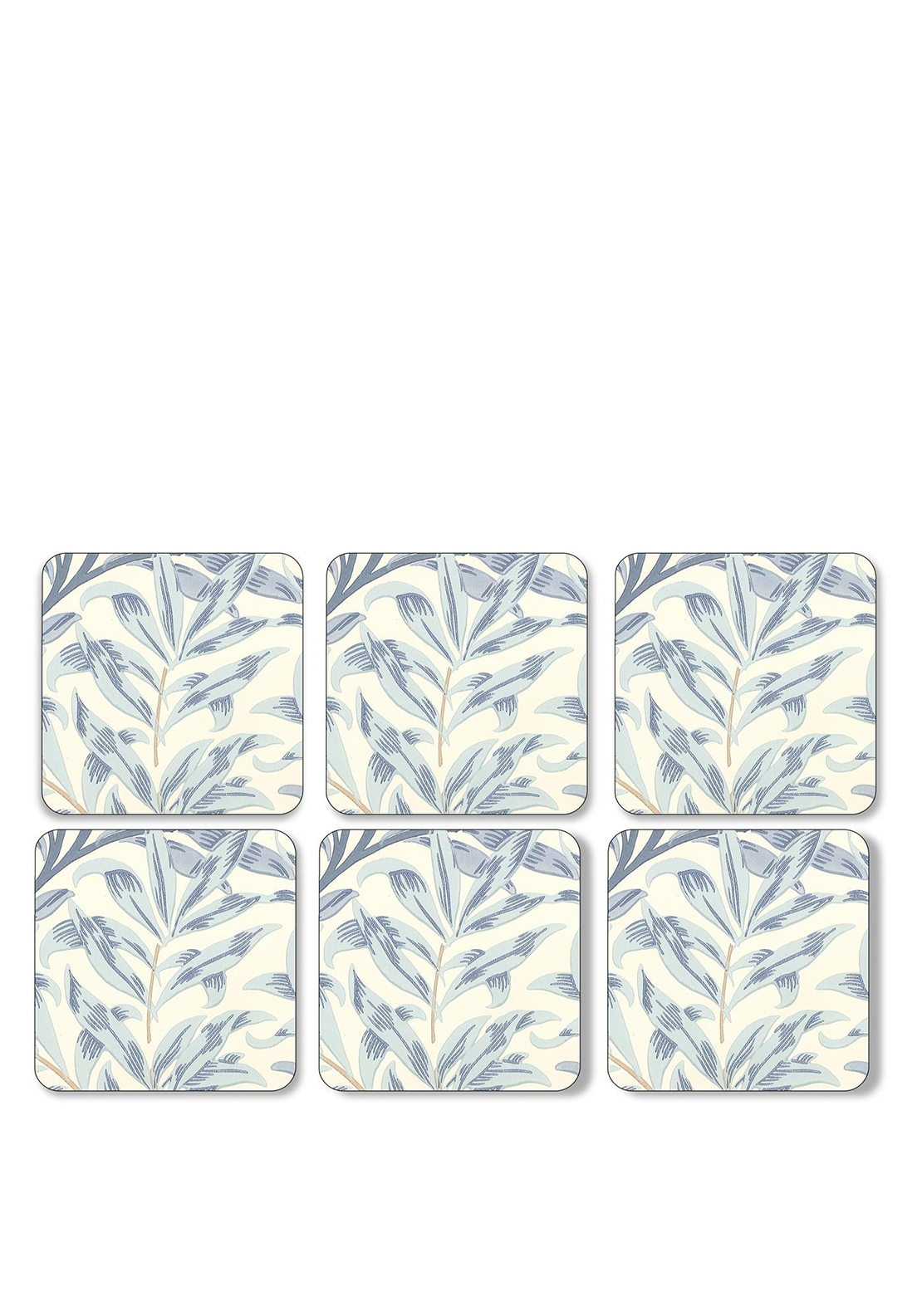 Pimpernel Willow Bough Blue Set of 6 Coasters