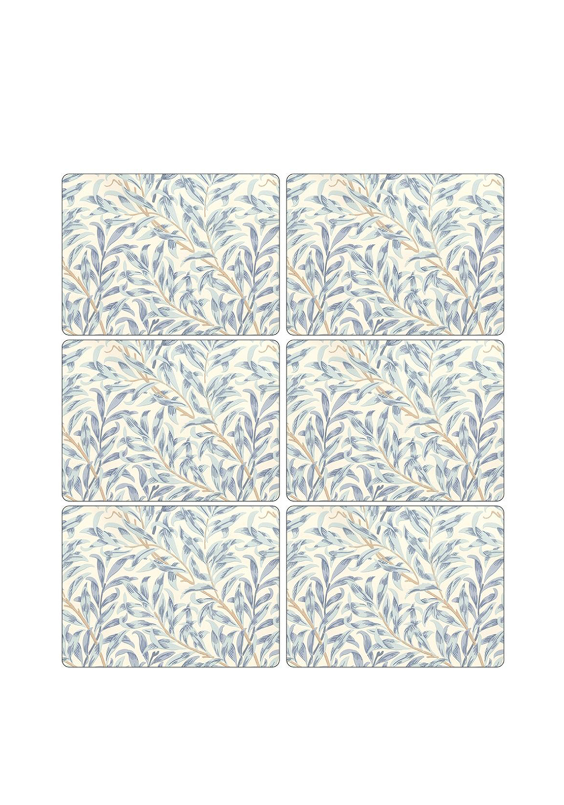 Pimpernel Willow Bough Blue Set of 6 Placemats