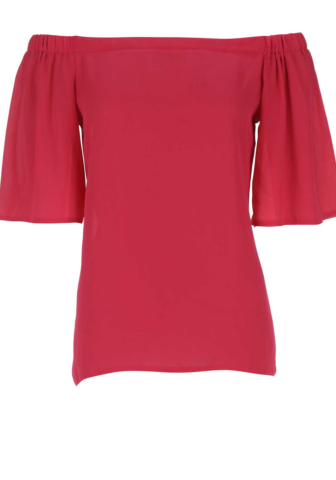 Boutique Off The Shoulder Top, Pink
