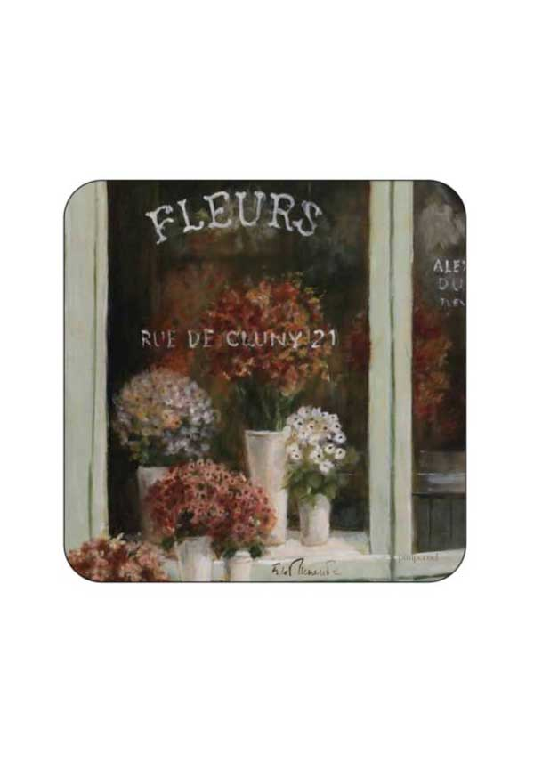 Pimpernel Le Fleuriste Coasters, set of 6