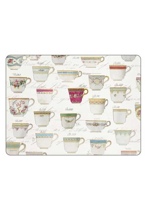 Pimpernel Antiquities Placemats, set of 6
