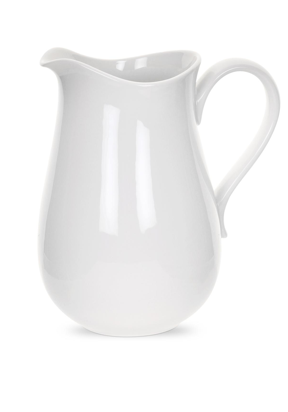 Portmeirion Porcelain Medium Pitcher Jug, White