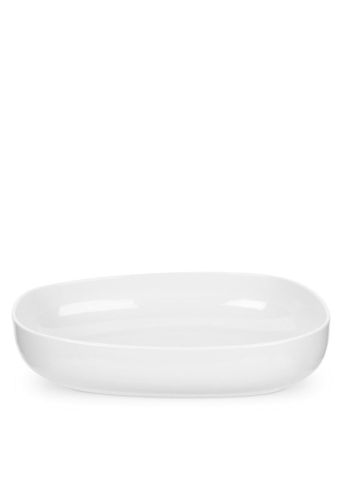 Portmeirion Porcelain Roasting Dish, White