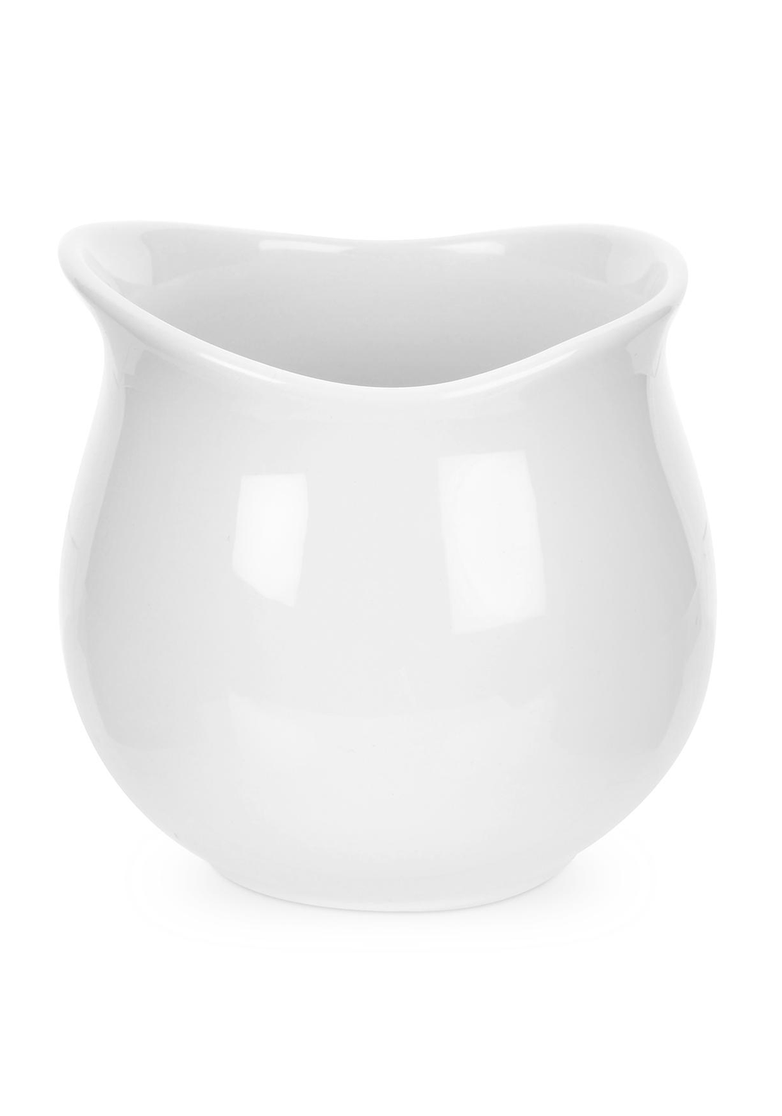 Portmeirion Porcelain Chip Holder, White