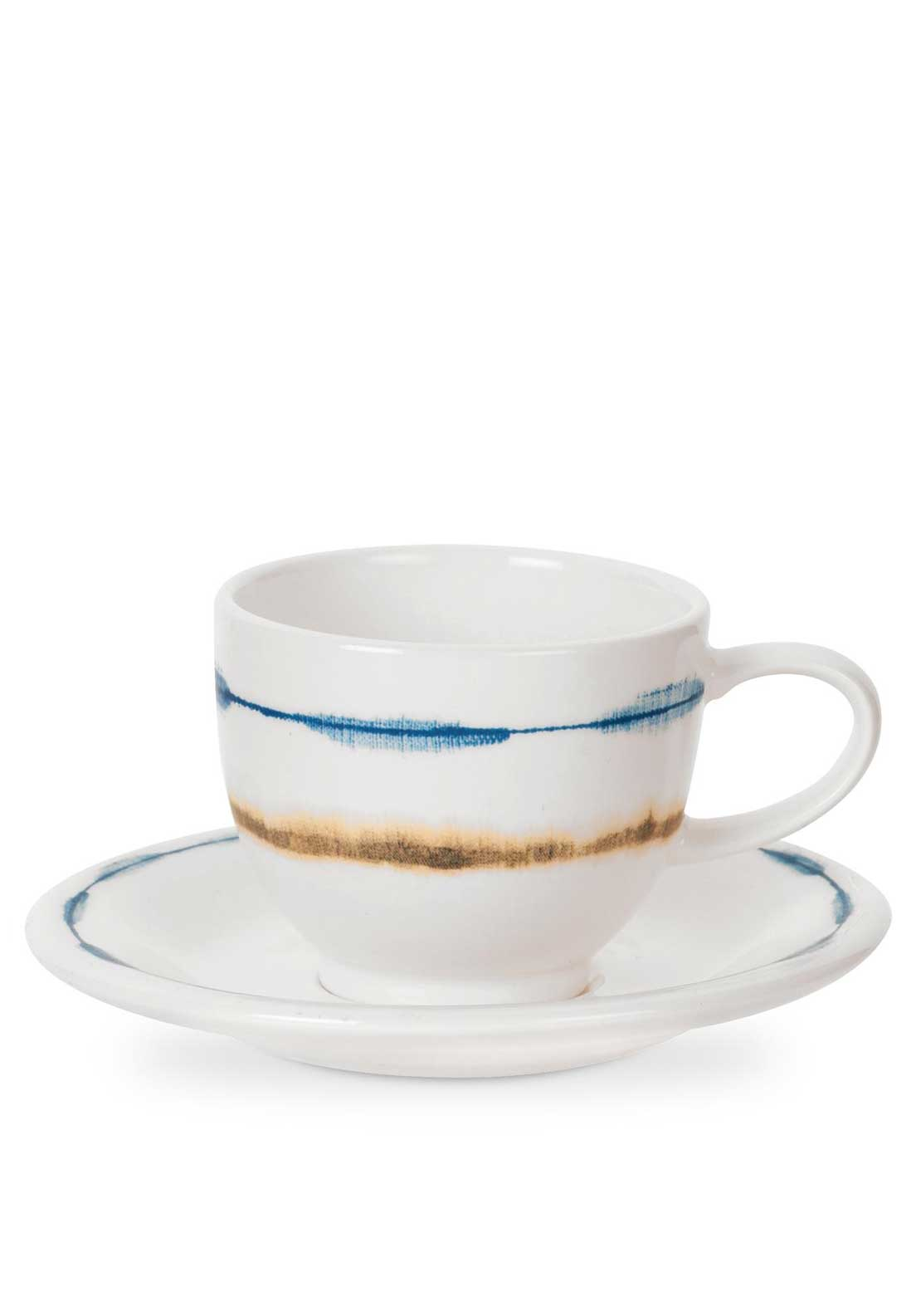 Portmeirion Coast Espresso Cup and Saucer Set