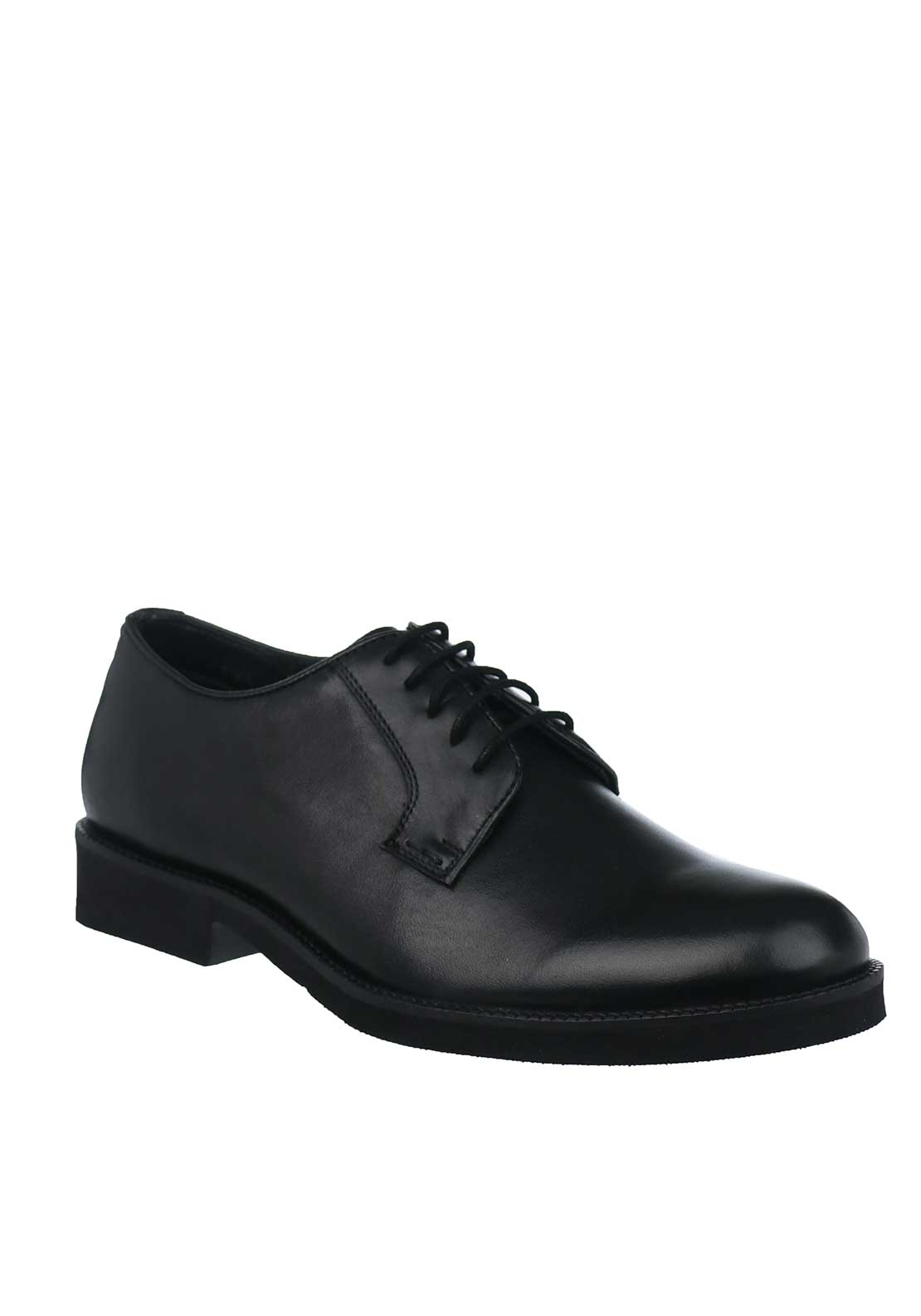 Paul O'Donnell by POD Delta Leather Shoes, Black