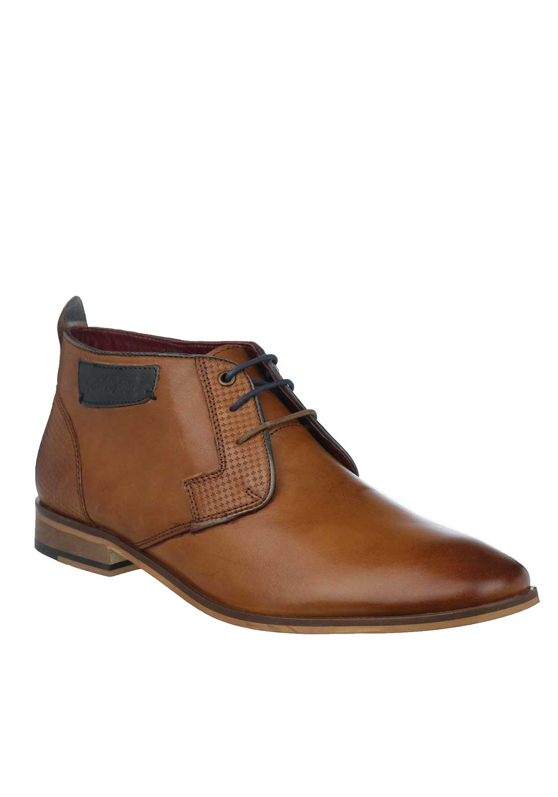 Paul O'Donnell by POD Fresno Leather Boots, Tan