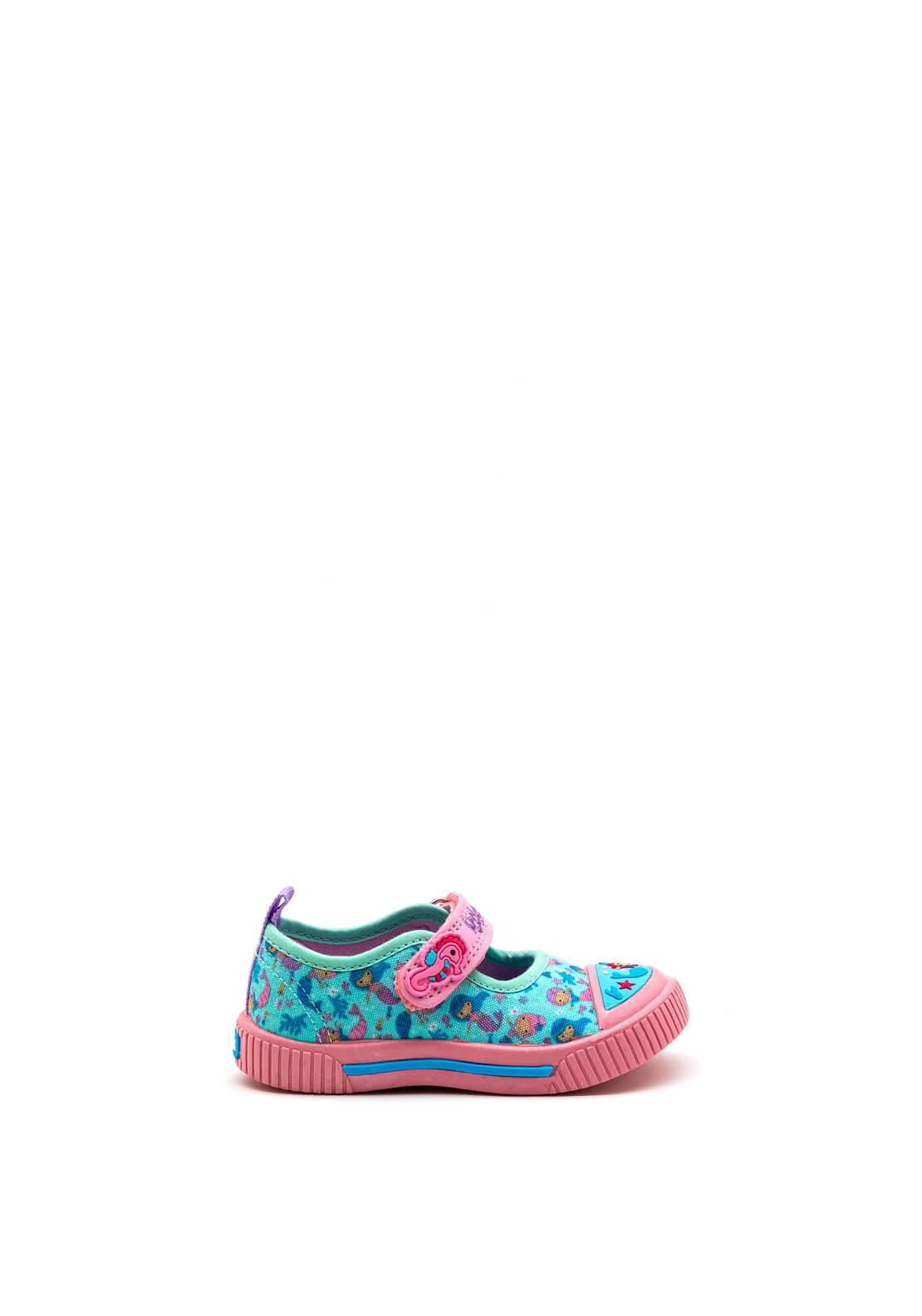 Podlers Baby Girls Mermaid Shoes, Blue Mix