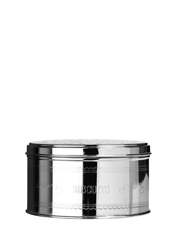 "Chai Stainless Steel ""Biscuits"" Storage Tin, 17x9.5cm"