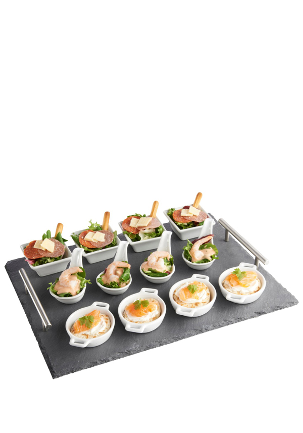 Premier Slate Serving Tray with handles