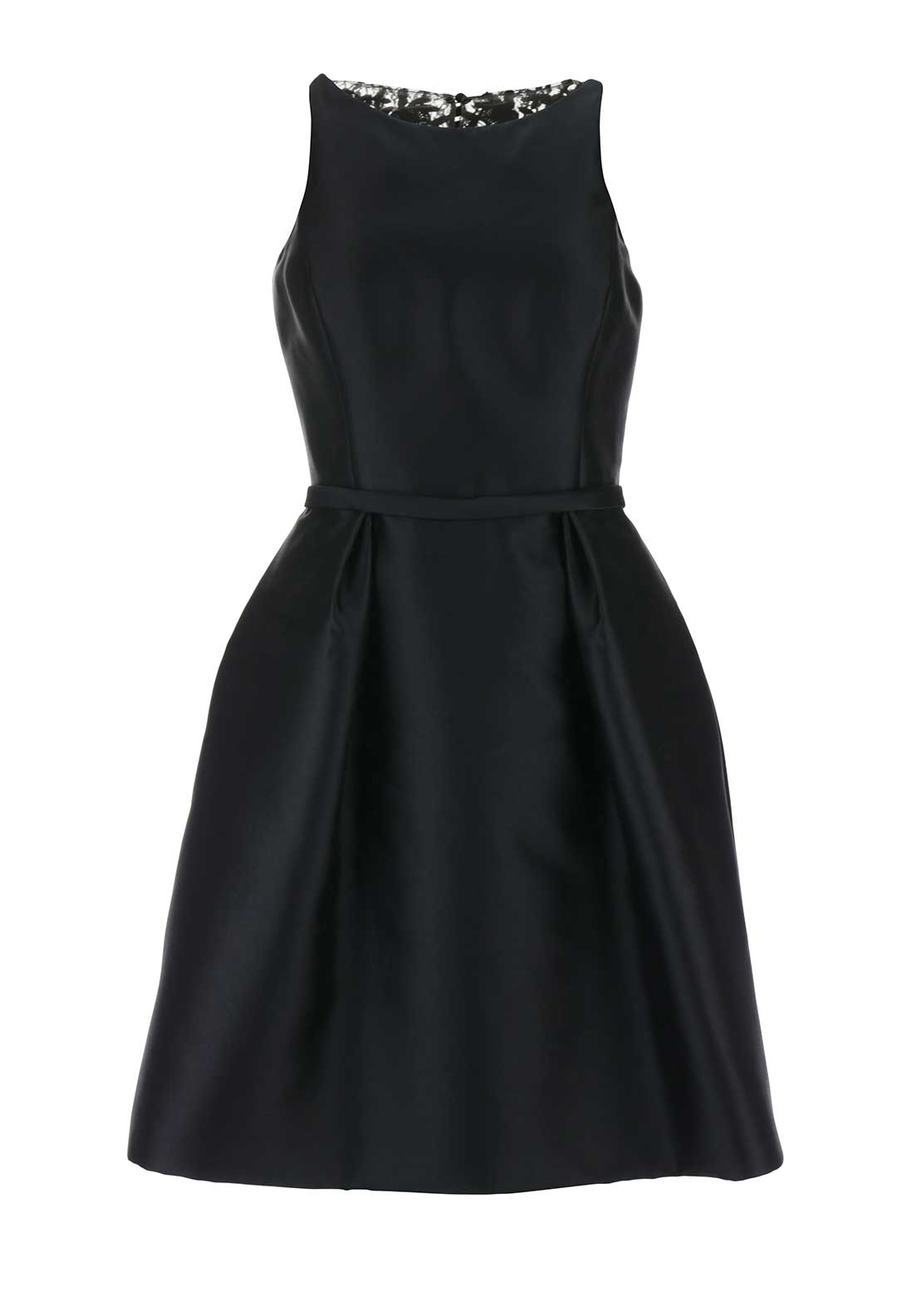Pronovias Cocktail Bogota Flared Dress, Black
