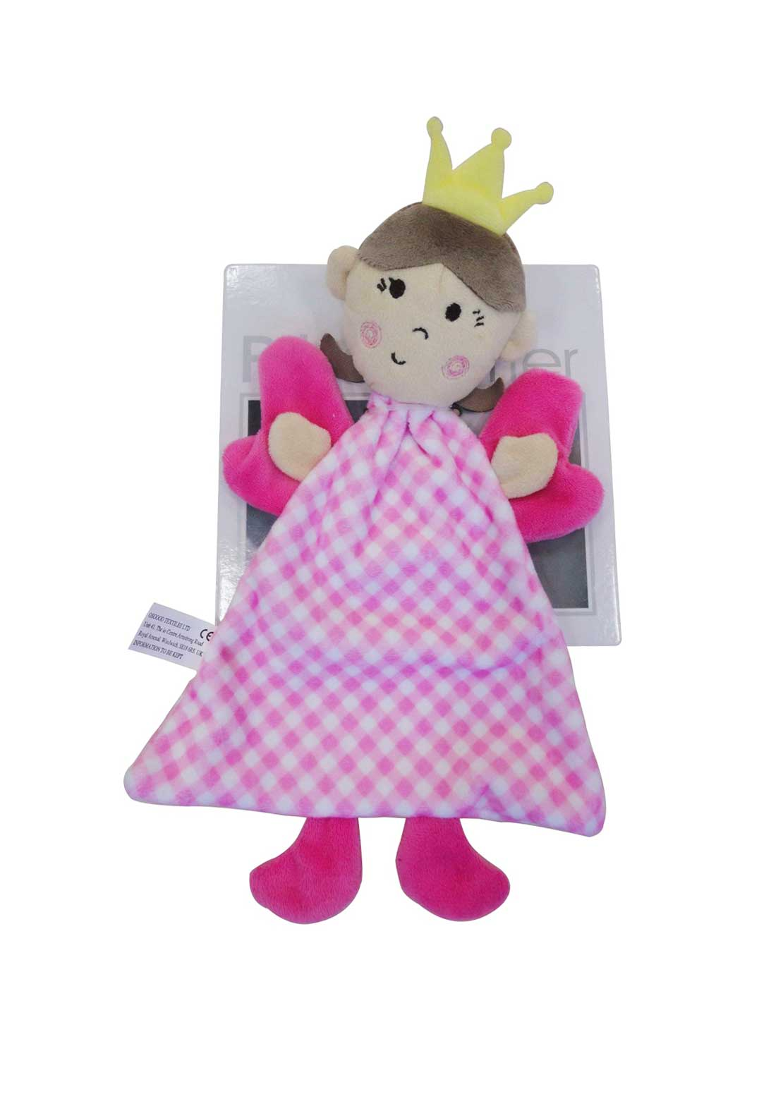 Pitter Patter Fairy Soothing Blanket, Pink