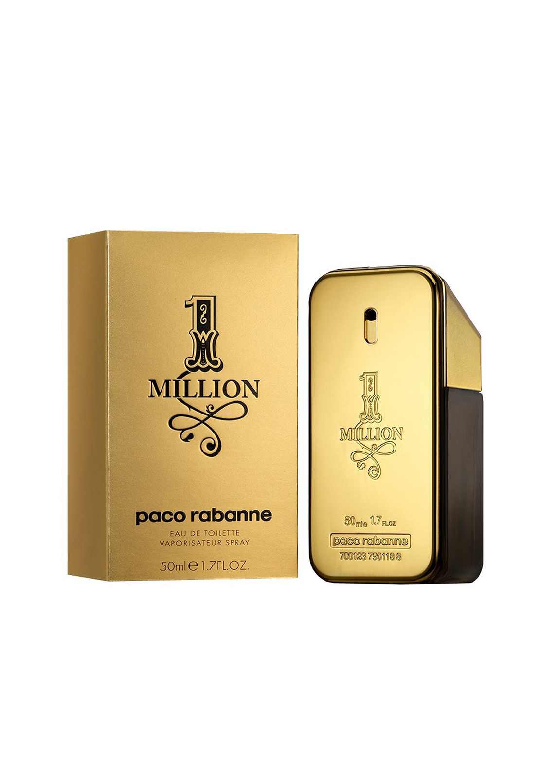 Paco Rabanne 1 Million Eau de Toilette, 50ml