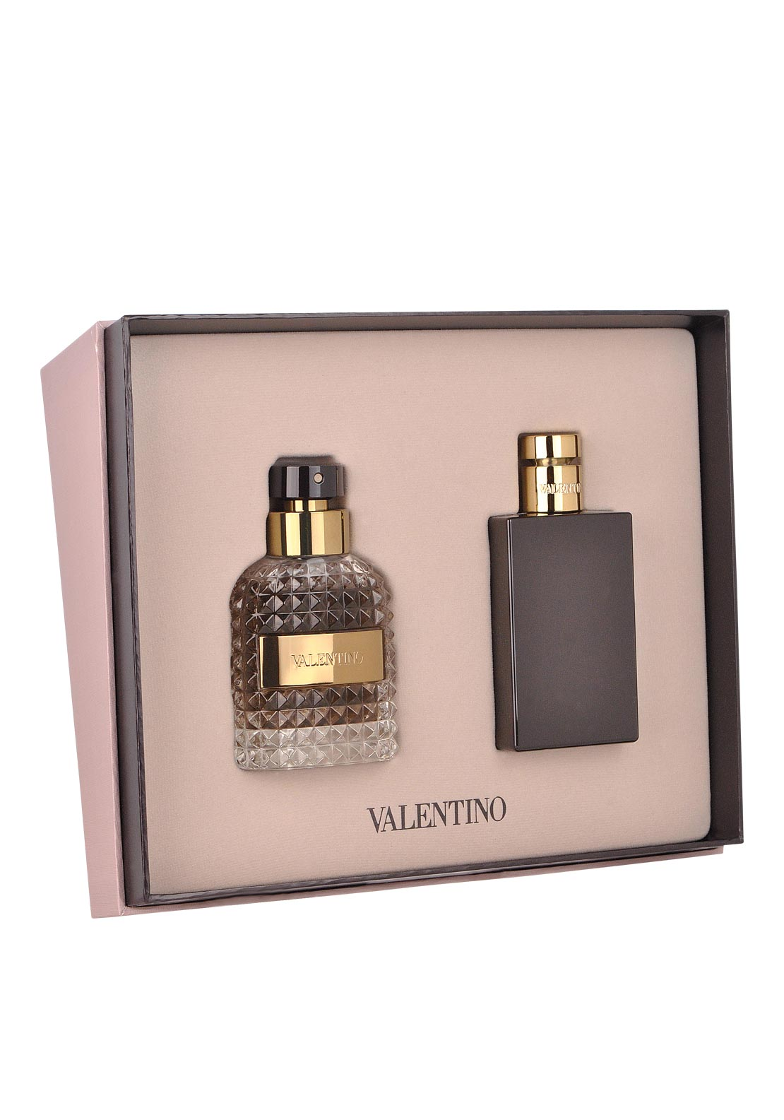 Valentino Uomo Eau De Toilette Gift Set for Men, 50ml