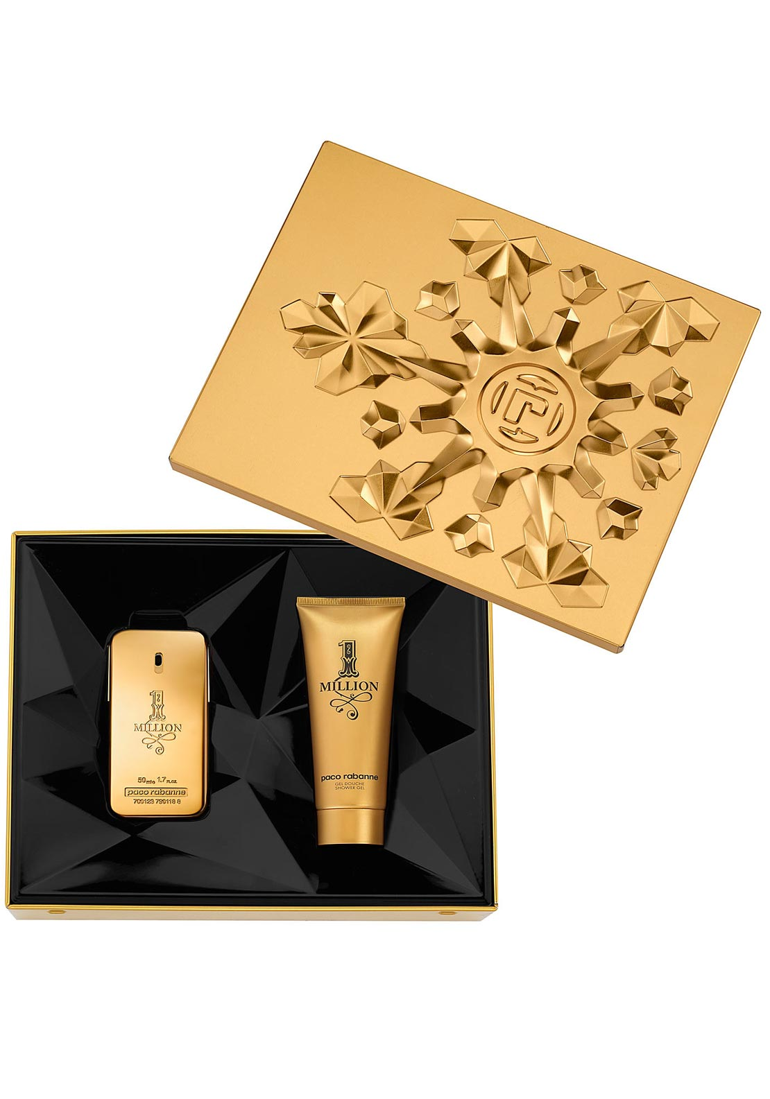 Paco Rabanne 1 Million Gift Set for Men, 50ml