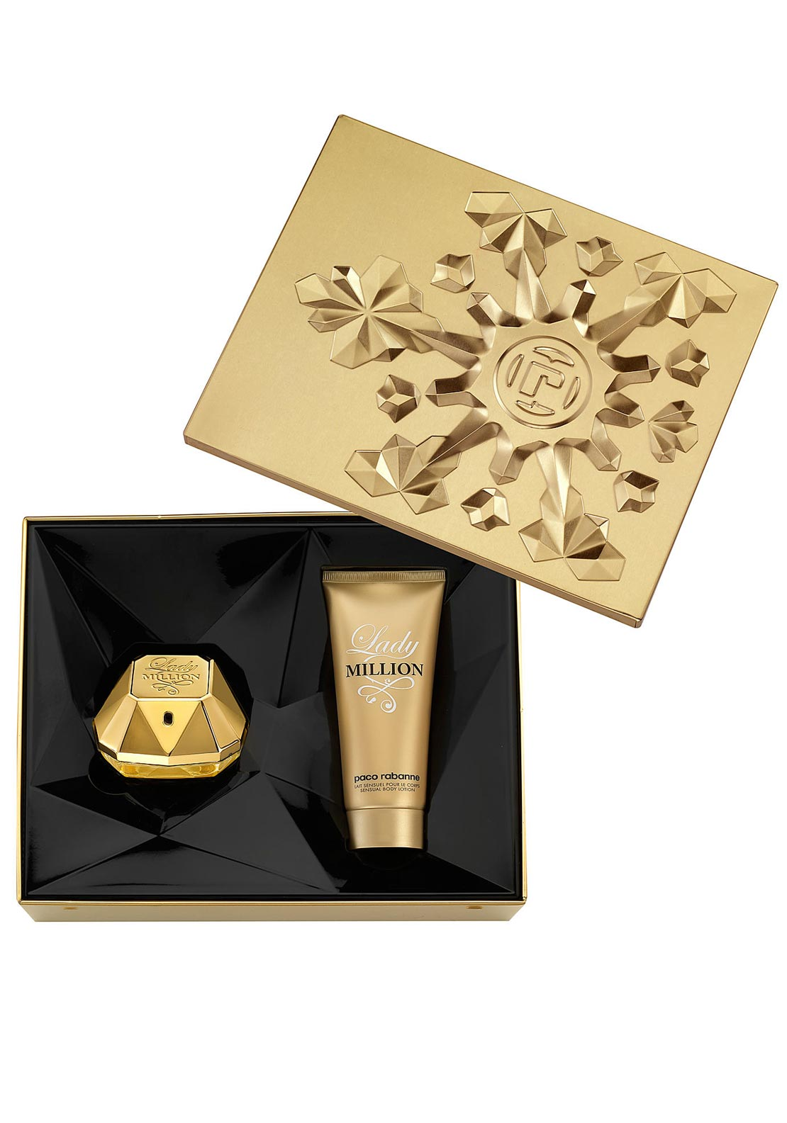 Paco Rabanne Lady Million Gift Set for Women, 80ml