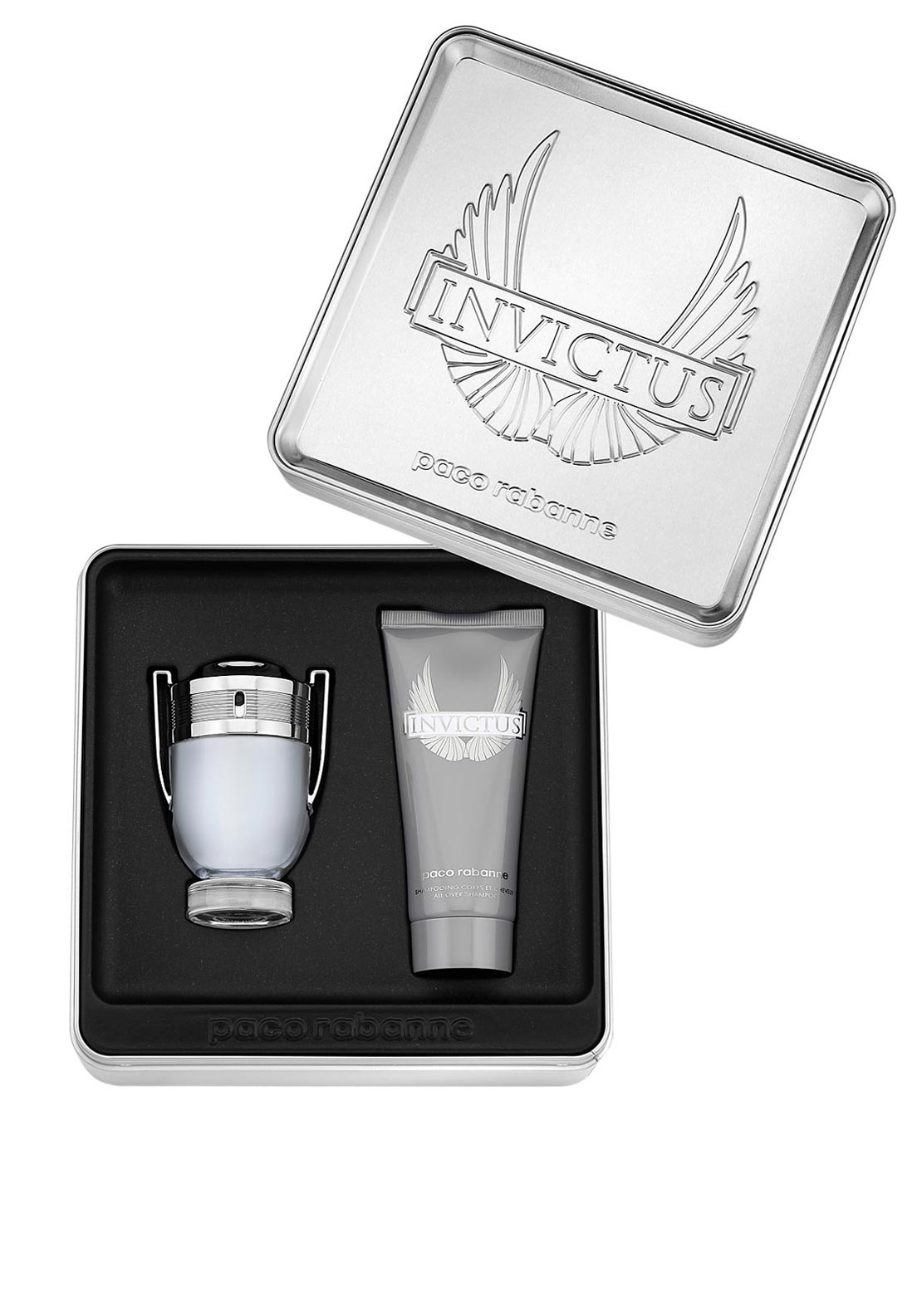 Paco Rabanne Invictus Gift Set for Men, 50ml
