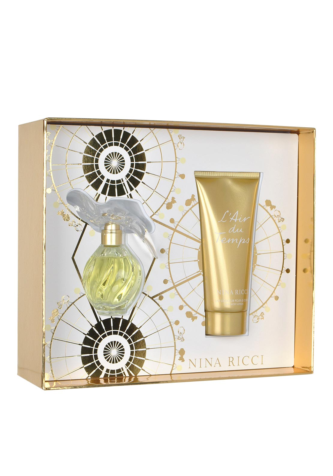Nina Ricci L'air Du Temps Eau De Toilette Gift Set for Women, 30ml