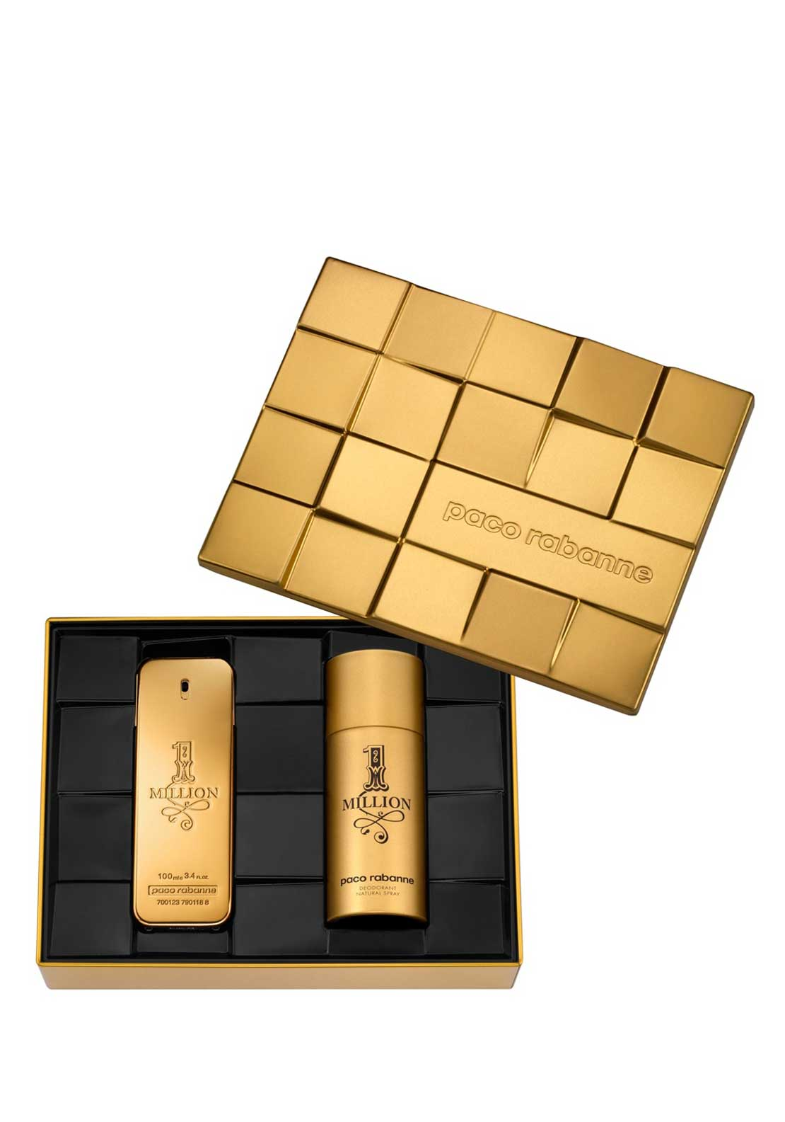 Paco Rabanne 1 Million Gift Set for him, 100ml