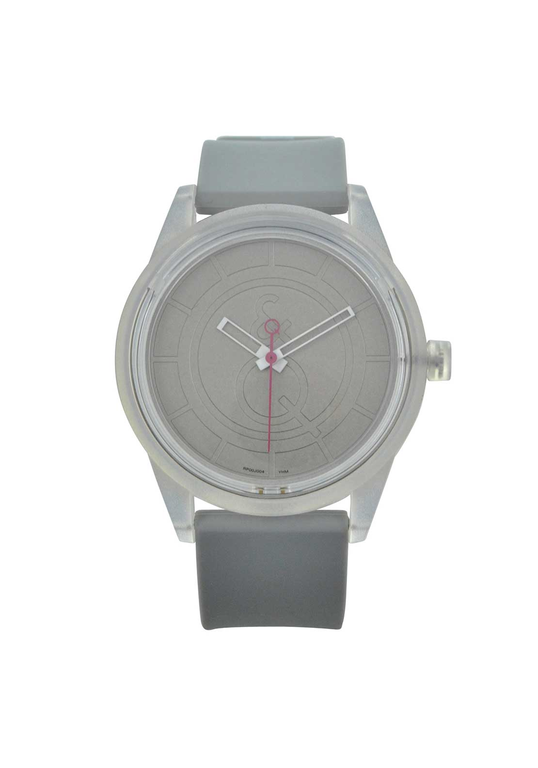 Q & Q Smile Solar Powered Unisex  Watch, Grey