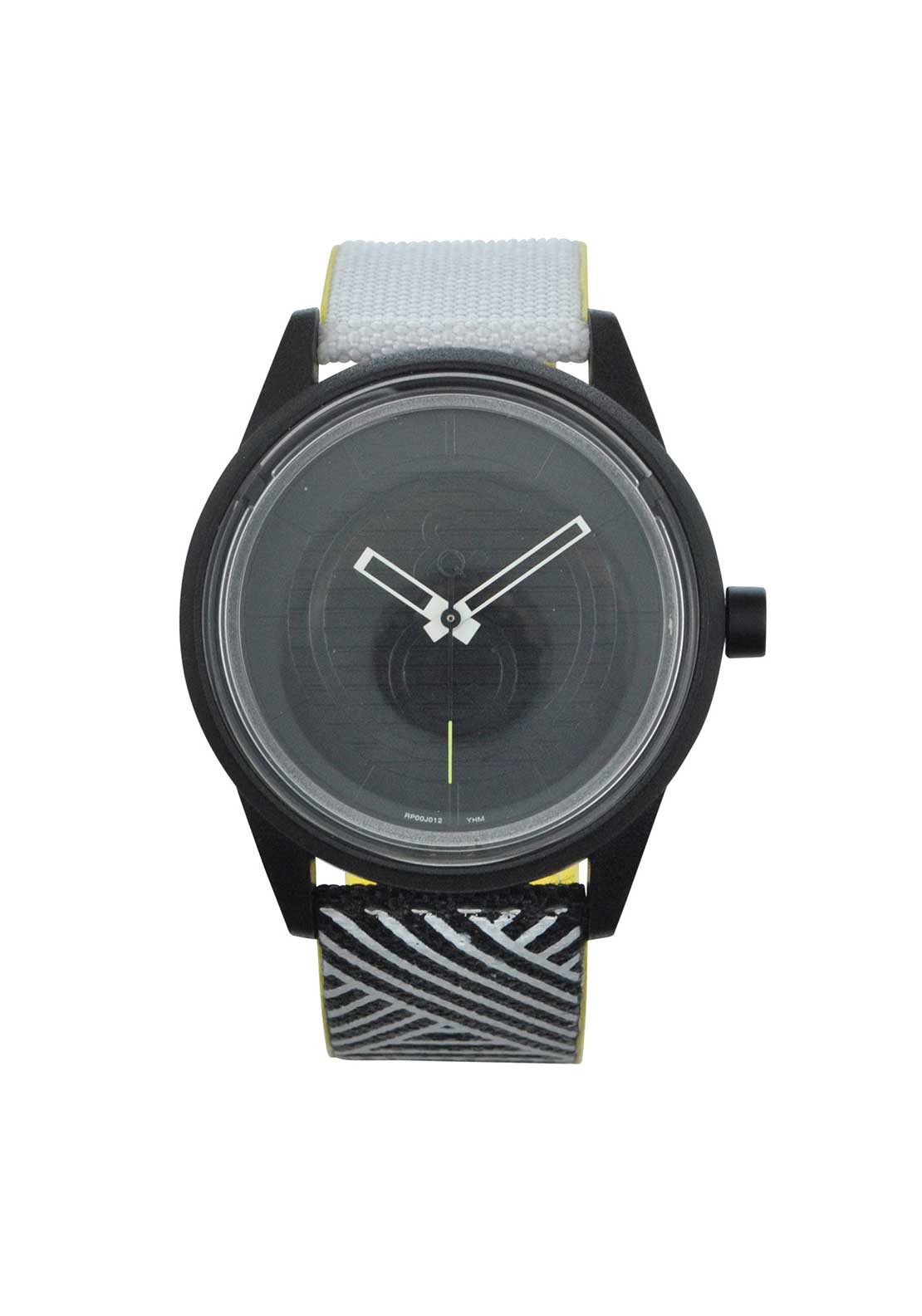 Q & Q Smile Solar Powered Unisex Watch, Monochrome