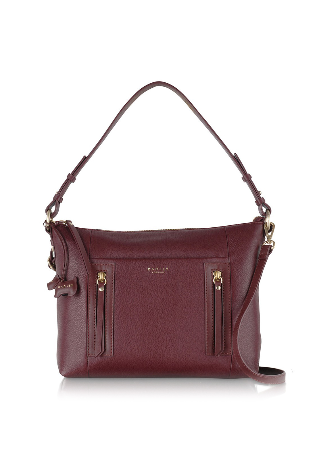 Radley Shoulder Ziptop bag Burgundy