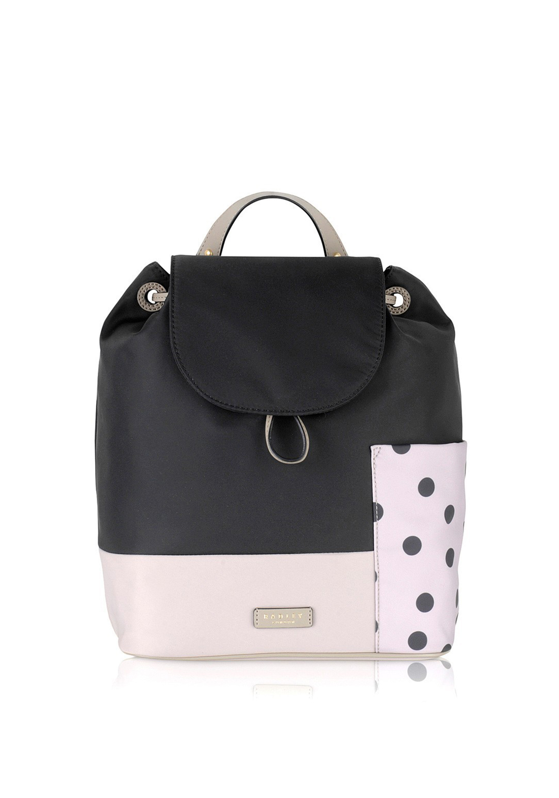 Radley Backpack Polka Dot Black