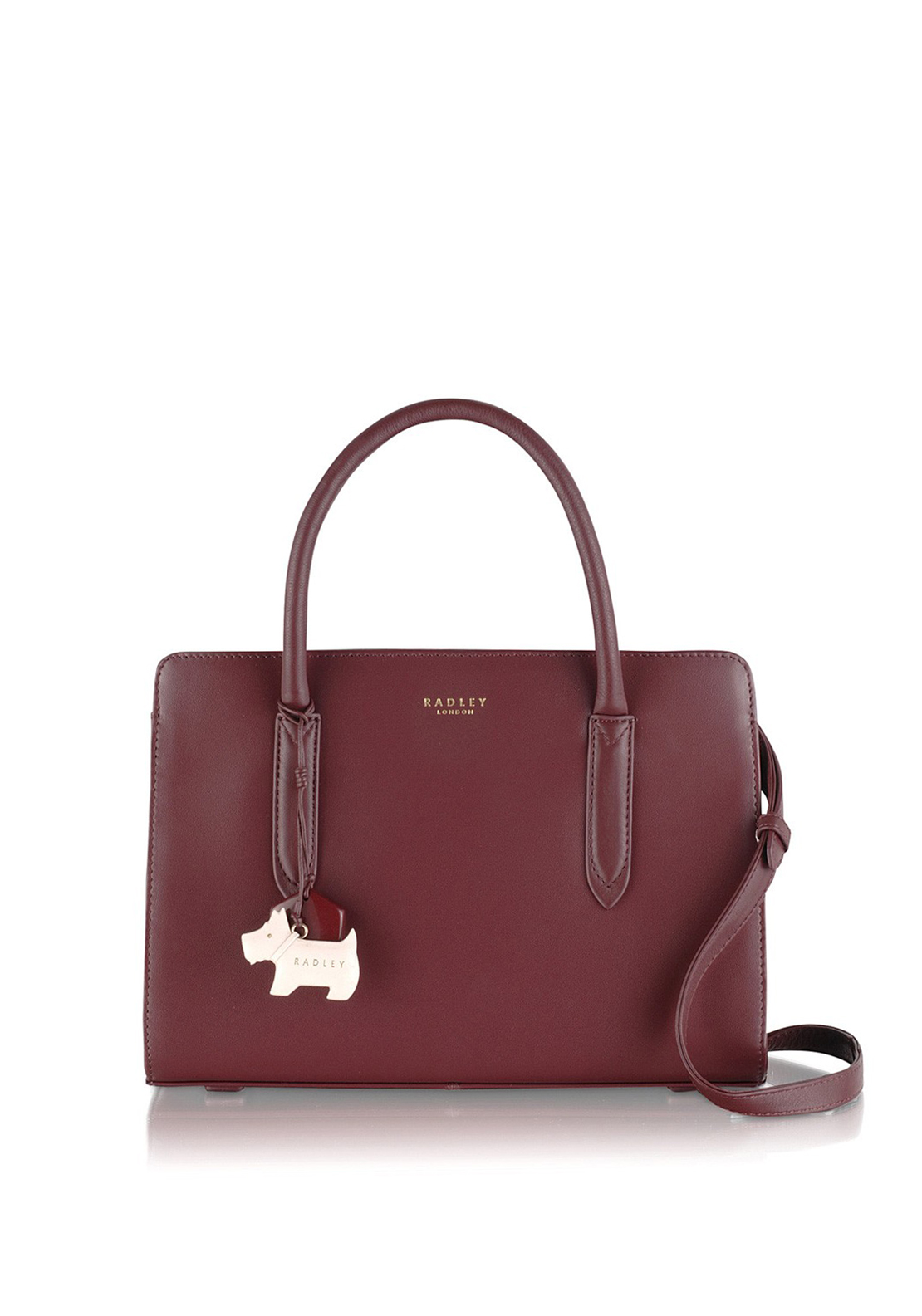 Radley Ziptop Grab Bag Burgundy