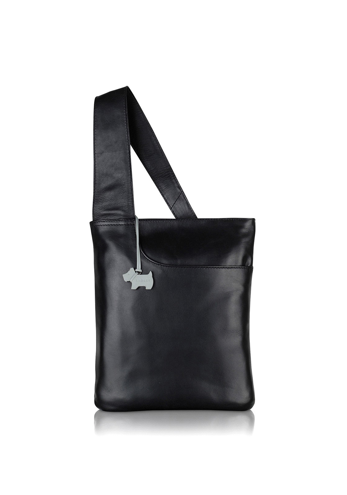 Radley Cross Body Pocket Zip top Bag Black