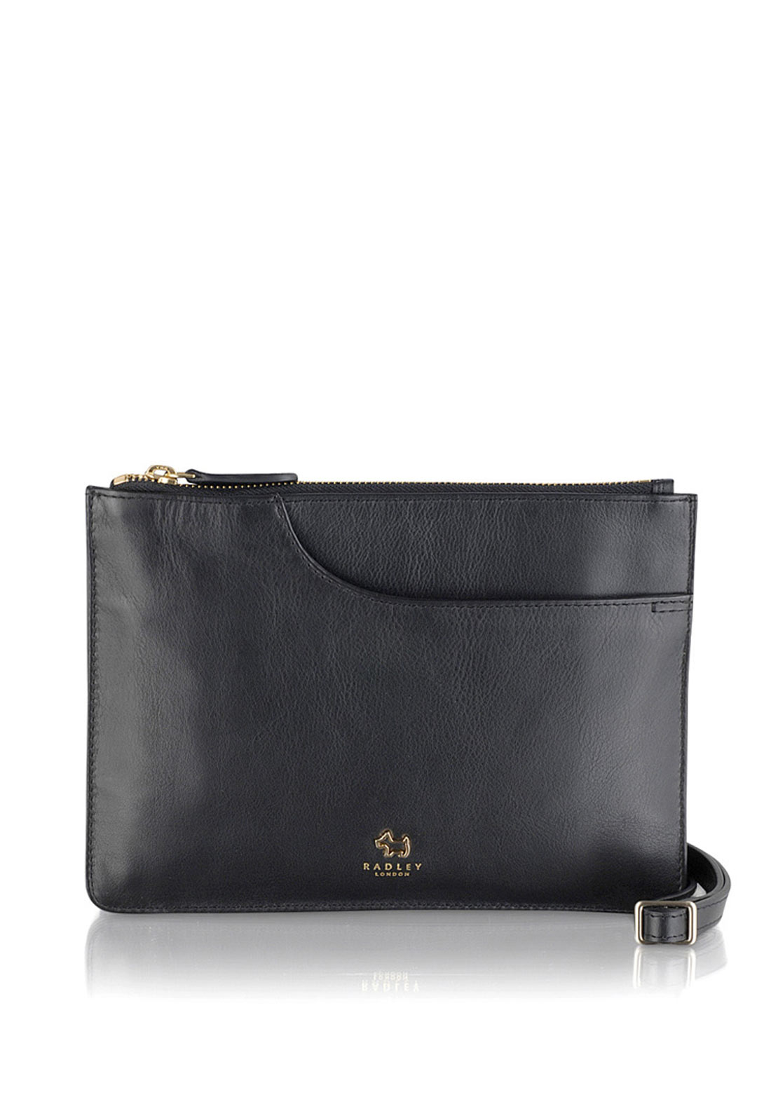 Radley Zip Top Tote Bag, Black