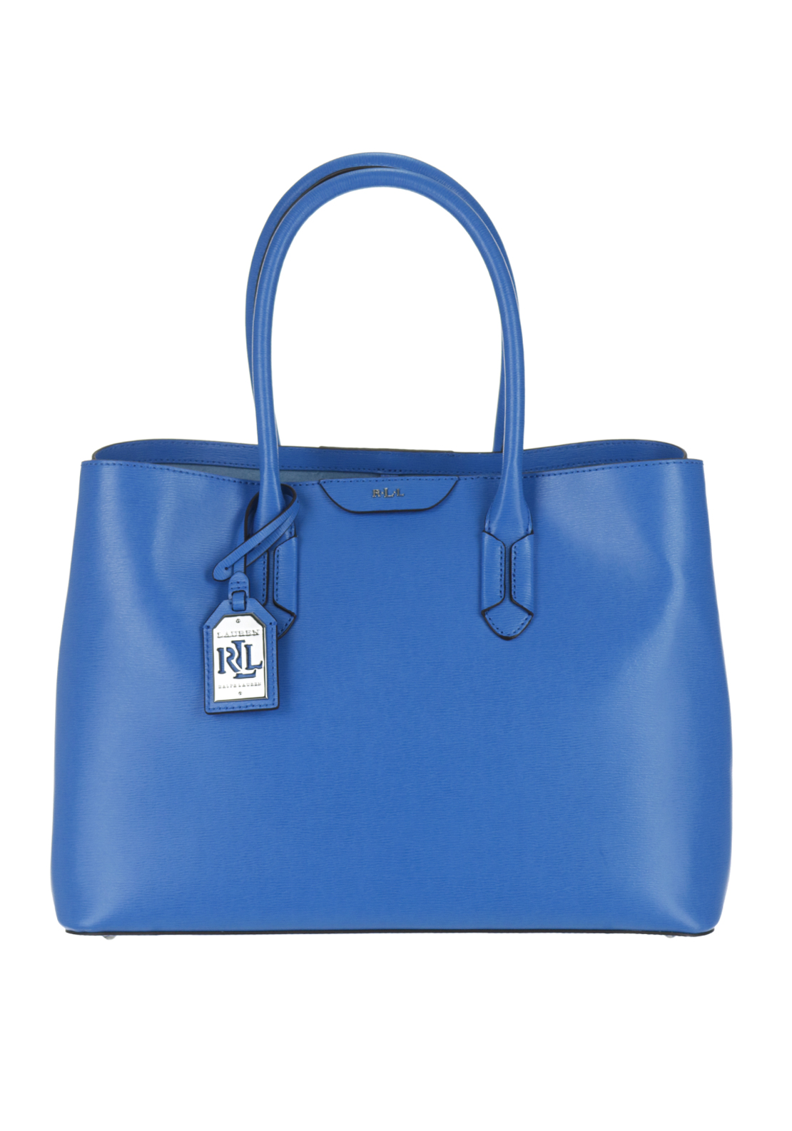 Ralph Lauren City Tote Shoulder Bag, Cyan Blue