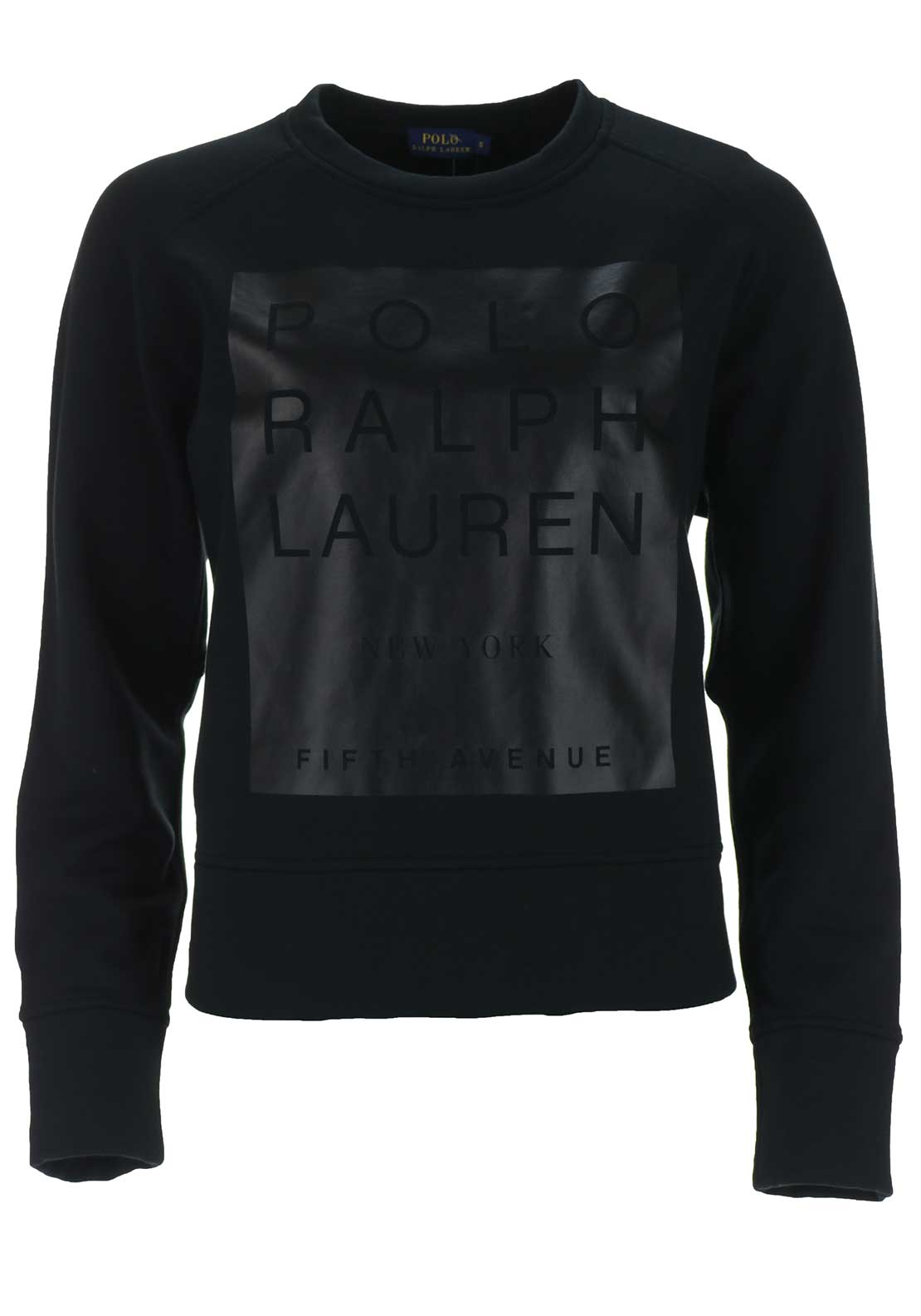 Ralph Lauren Womens Logo Sweatshirt, Black