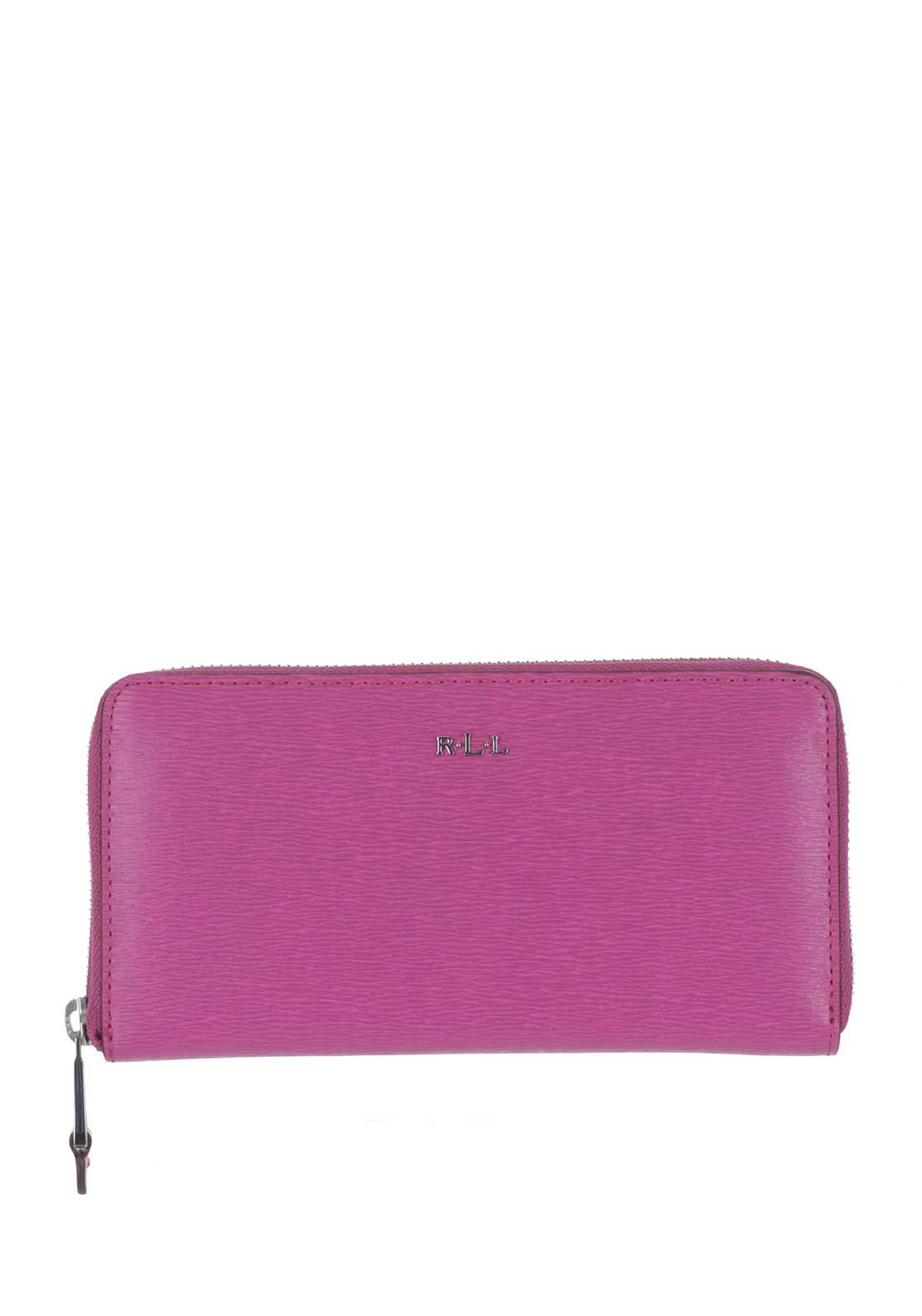 Ralph Lauren Zip Around Large Purse, Pink