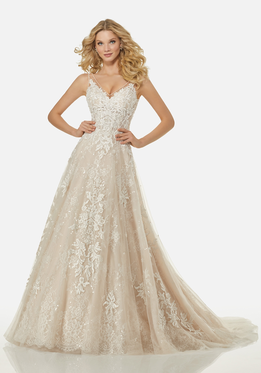 Randy Fenoli Wedding Dress 3410