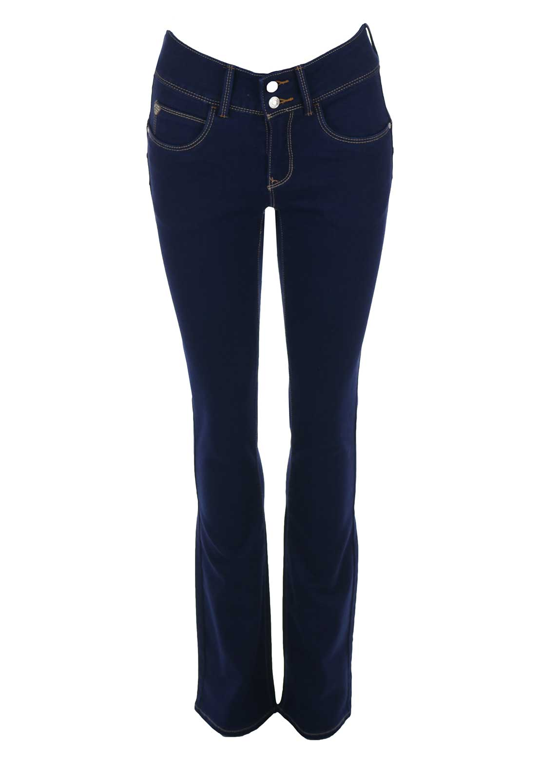 Rant & Rave Edith Bootcut Jeans, Blue