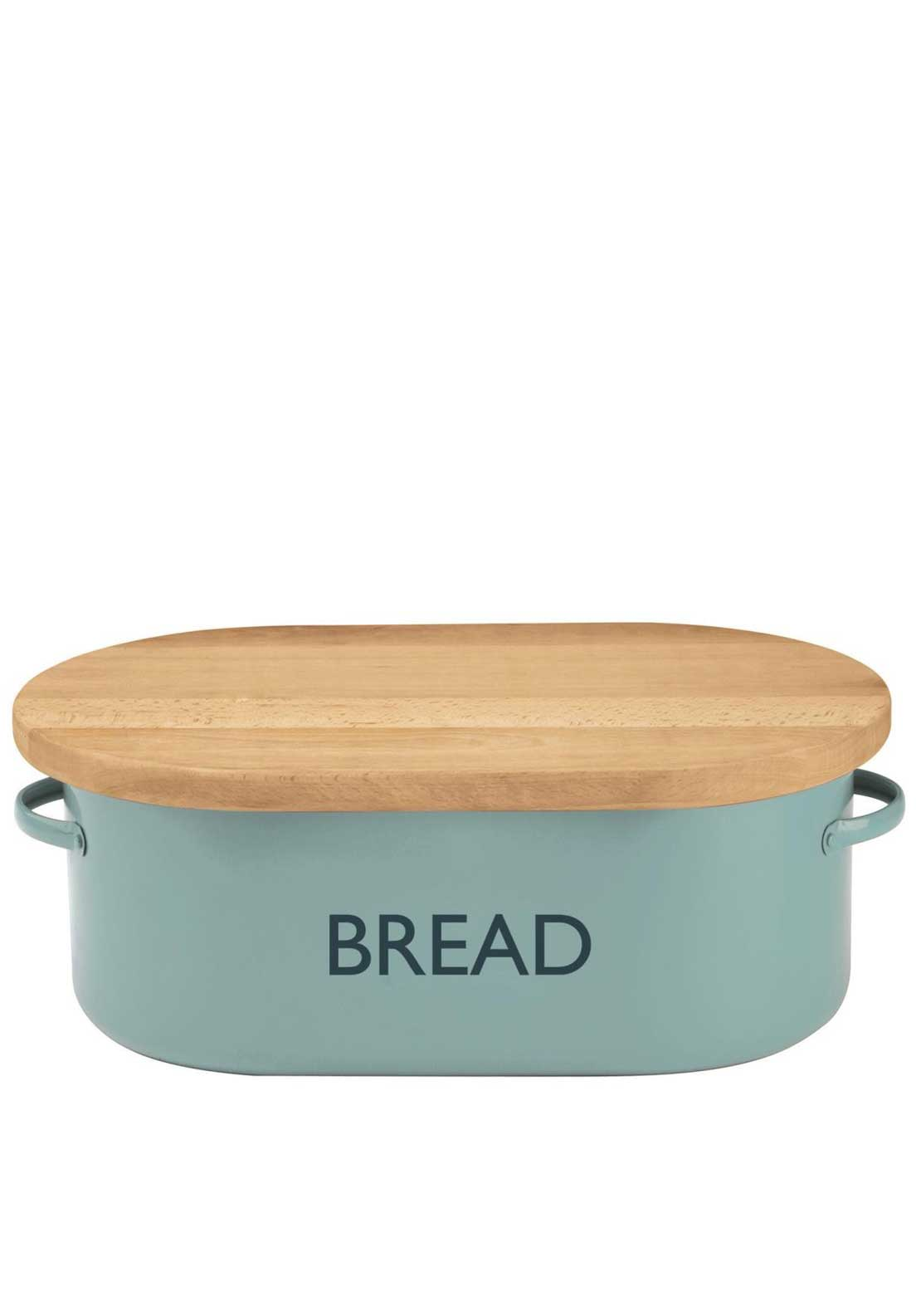 Typhoon Vintage Kitchen Bread Bin, Blue