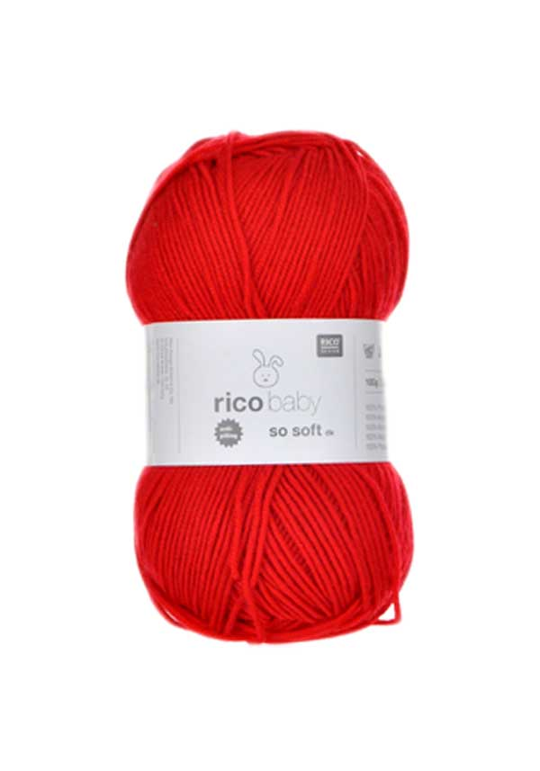 Rico Baby So Soft dk, Red 006
