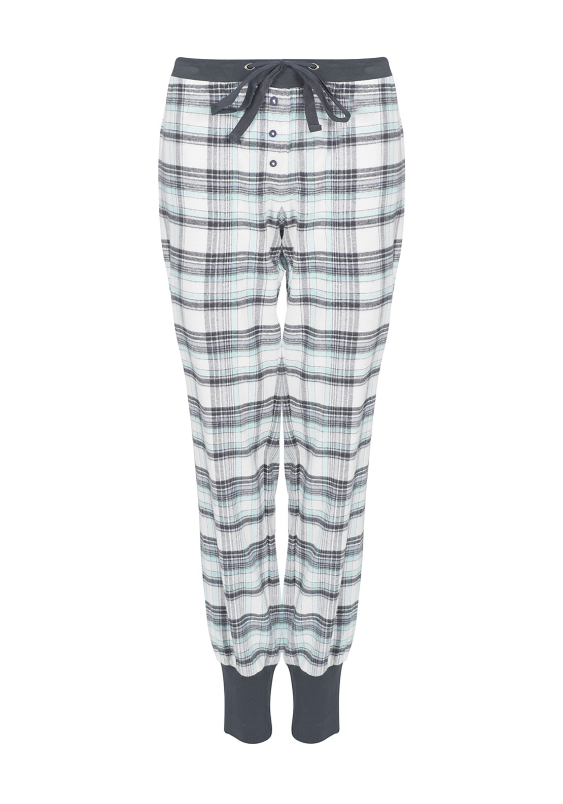Rebelle Checked Pyjama Bottoms, Multi-Coloured