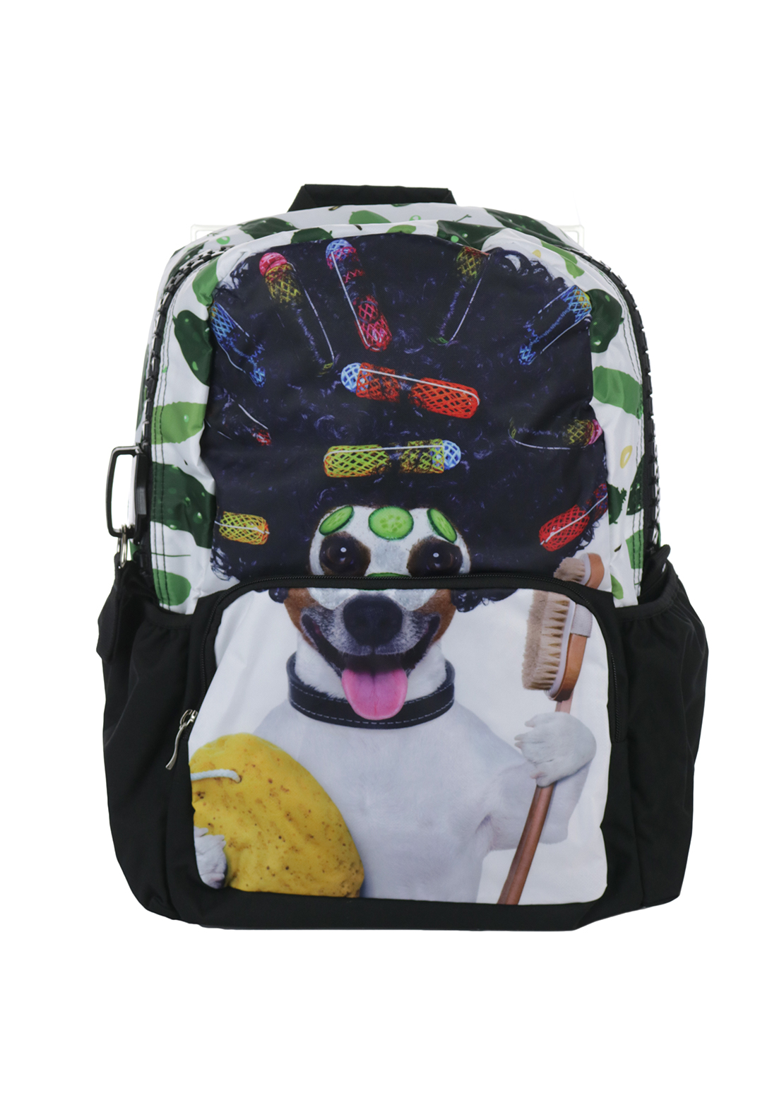 Ridge 53 Dog with Rollers Backpack Schoolbag, Multi-Coloured