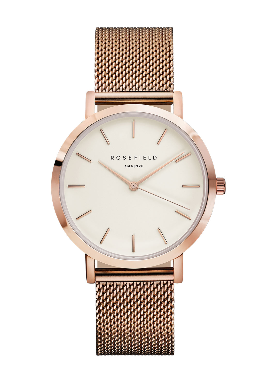 Rosefield The Mercer Rose Gold Watch