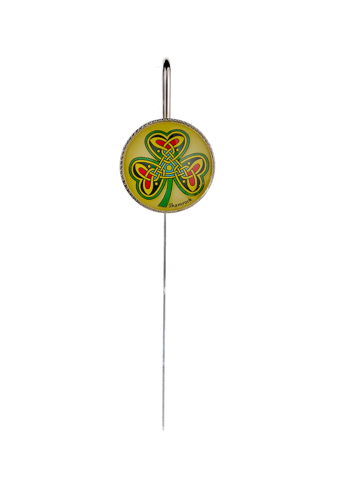 Royal Tara Celtic Shamrock Bookmark, Silver