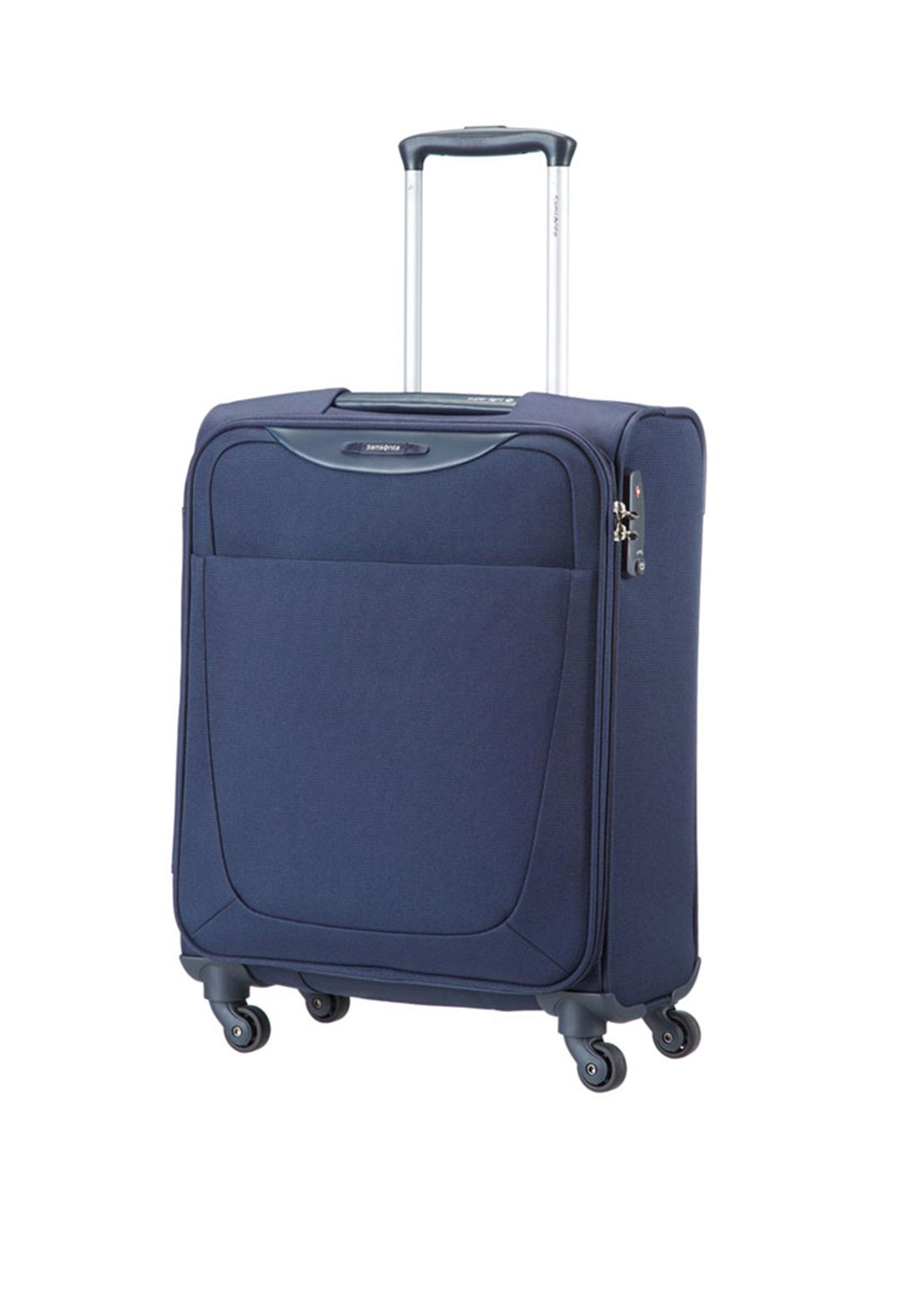 Samsonite Base Hits Spinner Cabin Size Case 55 x 40 x 20cm, Navy