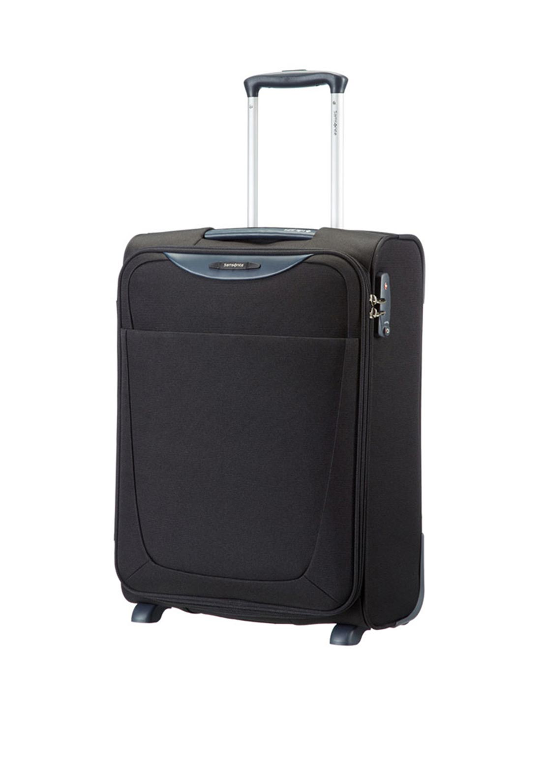 Samsonite Base Hits Upright Cabin Size Suitcase 55cm, Black