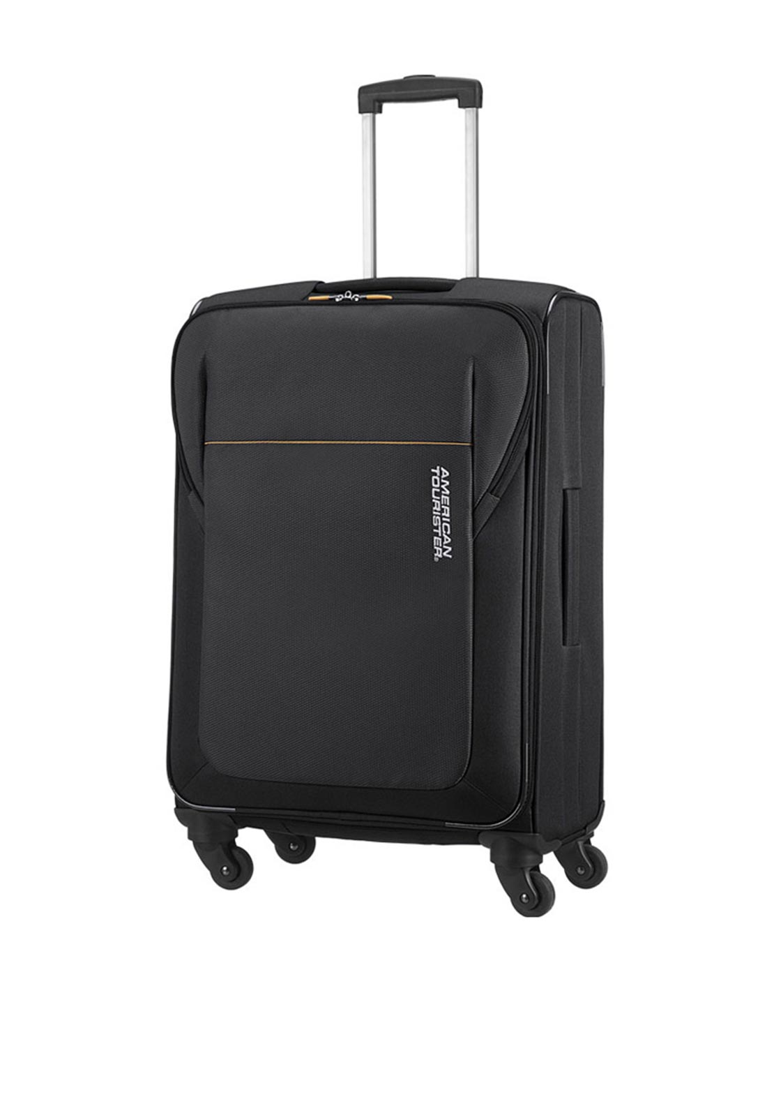 American Tourister San Francisco Spinner Medium 66cm Suitcase, Black